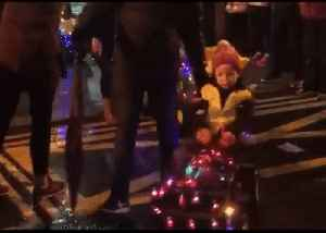 Tractors Large and Small Spread Festive Cheer Across Irish Town [Video]