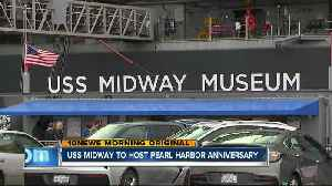 USS Midway honors Pearl Harbor survivors on 77th Anniversary of attack [Video]