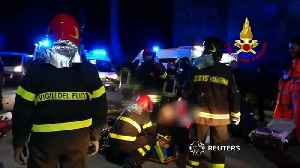 Six dead and dozens injured in Italian nightclub stampede - local media [Video]