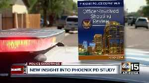 Report on Phoenix officer-involved shootings may be completed by end of year [Video]