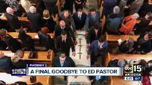 Former Congressman Ed Pastor laid to rest Friday after emotional ceremony [Video]