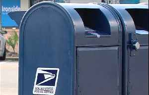 Thieves using sticky substance to steal checks from mailboxes, then washing the checks [Video]