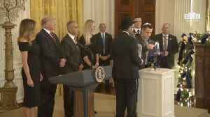 Lighting The Hanukkah Candles At The White House [Video]