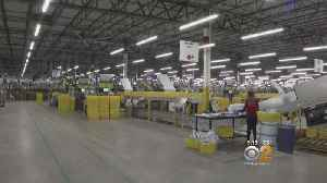 Behind The Scenes At New Amazon Fulfillment Center On Staten Island [Video]