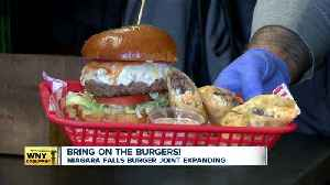 Burger lovers rejoice! Popular Niagara Falls burger joint expanding [Video]
