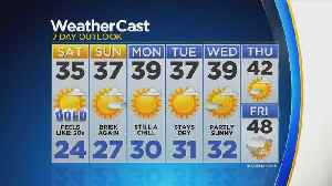Chilly Weekend On Tap [Video]