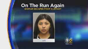 Woman Walks Out Of Cook County Jail [Video]