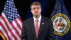News video: VA Secretary Wilkie Called Confederate President A 'Martyr' To The 'Lost Cause'