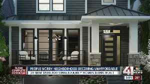 New Plaza-Westport homes worry current residents [Video]