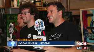 Local meteorologist ranked 4th in the world for pinball [Video]