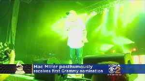 Late Pittsburgh Rapper Mac Miller Nominated For First Grammy [Video]