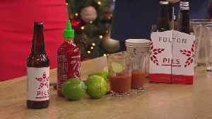 Festive Drinks From Fulton Brewing & Holidazzle Preview [Video]