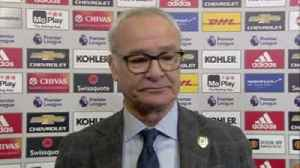 Ranieri: We didn't play in first half [Video]