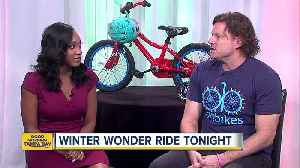 Lighten up your day at 8th Annual Winter Wonder Ride [Video]