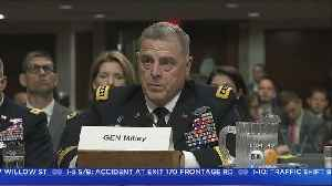 Gen. Mark Milley Nomination, Mueller Investigation And More [Video]