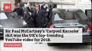 Nothing More Popular Than Sir Paul McCartney On Carpool Karaoke [Video]