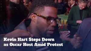 Kevin Hart Is Out As Oscar Host [Video]
