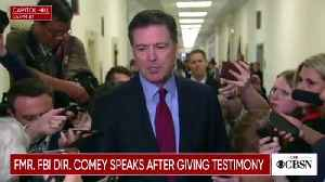 'All Lies!' Trump Lashes Out At 'Leakin' James Comey' Over Testimony [Video]