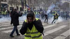 Macron Yet To Speak As Paris Protests Continue [Video]