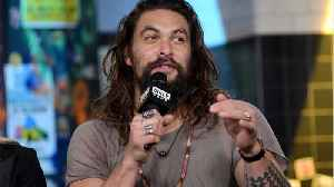Jason Momoa Says He Was Constantly Crying On Aquaman Set [Video]