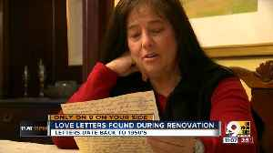 Lost love letters from husband to wife lets daughter connect with man she hardly knew [Video]