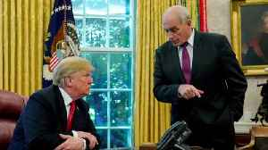 """John Kelly will be leaving"": Trump [Video]"