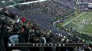 Army scores first touchdown [Video]