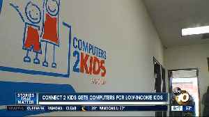 Connect 2 Kids gets computers low-income kids in San Diego [Video]