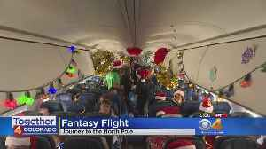 Make-A-Wish Colorado Spreads Cheer, Flies Children To 'The North Pole' [Video]
