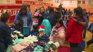 Warmth Giveaway Brings Winter Gear To Twin Cities Children [Video]