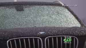Wintry Weather Creates Icy Conditions In Newark, Oklahoma [Video]