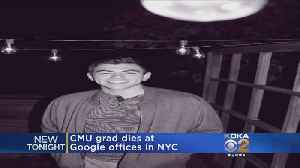 CMU Grad Found Dead At Google's NYC Office [Video]