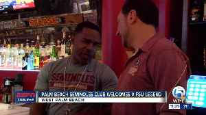 Palm Beach Seminoles Club welcomes Peter Warrick [Video]