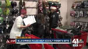 Children, Blue Springs officers relish chance to Shop With A Cop [Video]