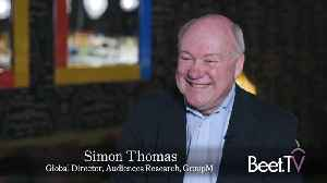 Data Thinking Is Short-Termism: GroupM's Thomas [Video]