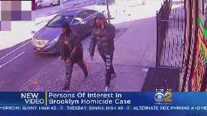 Persons Of Interest Wanted In Brooklyn Murder [Video]