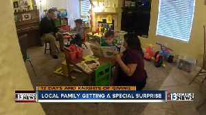 13 Days: Local family gets a special surprise [Video]