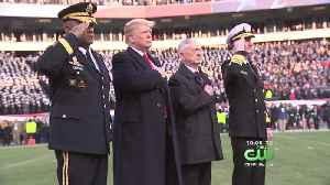 President Trump Attends Biggest Rivalry In Sports At Army-Navy Game [Video]