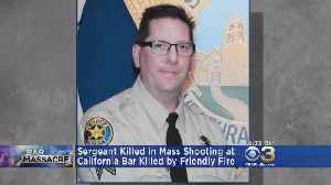 Friendly Fire Ruled As Cause Of Death For Sergeant Killed In Mass Shooting At California Bar [Video]