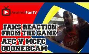 Gooner Cam: Arsenal 2 Man City 2 (Fans At the Clock End) [Video]