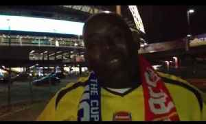 Robbie after Victory at Wembley in The FA Cup Semi-Final [Video]