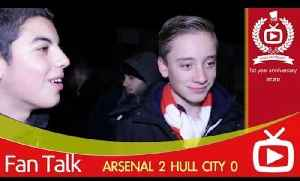 Arsenal FC 2 Hull City 0 - Mesut Ozil Was Brilliant But Bendtner Was Awful [Video]