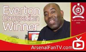 Arsenal v Everton Competition Winner Result. The AFTV Anniversary Competition. [Video]