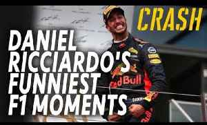 Daniel Ricciardo's funniest F1 moments | Crash.net [Video]