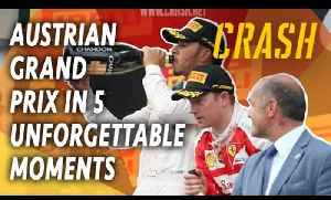F1 Austrian Grand Prix in 5 Unforgettable Moments | Austrian GP Classic Highlights [Video]