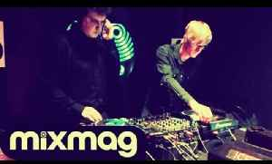 Simian Mobile Disco and South London Ordnance techno DJ sets in The Lab LDN [Video]