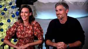 Odette and Dave Annable Have a Pitch for a 'Brothers & Sisters' Revival (Exclusive) [Video]