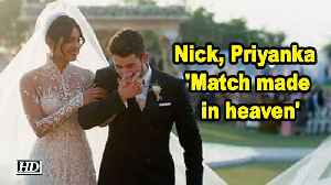 Nick, Priyanka are 'match made in heaven' [Video]