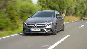 Mercedes-AMG A 35 4MATIC in Grey magno Driving Video [Video]