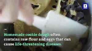 CDC Warns Not to Eat Raw Cookie Dough [Video]